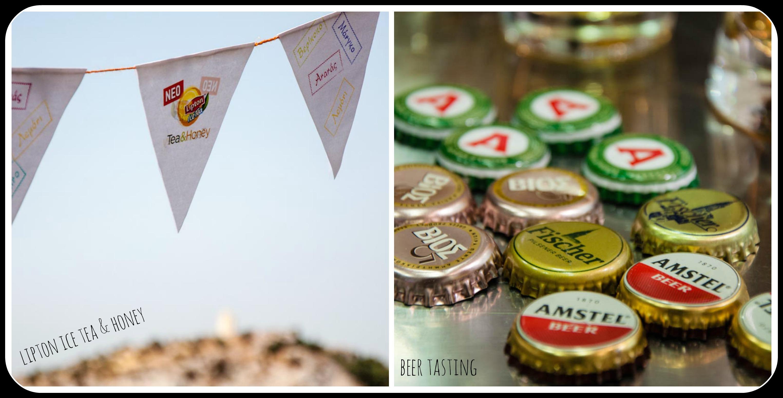 Events μάι λαβ: γευσιγνωσία μπύρας και παρουσίαση τσαγιού.